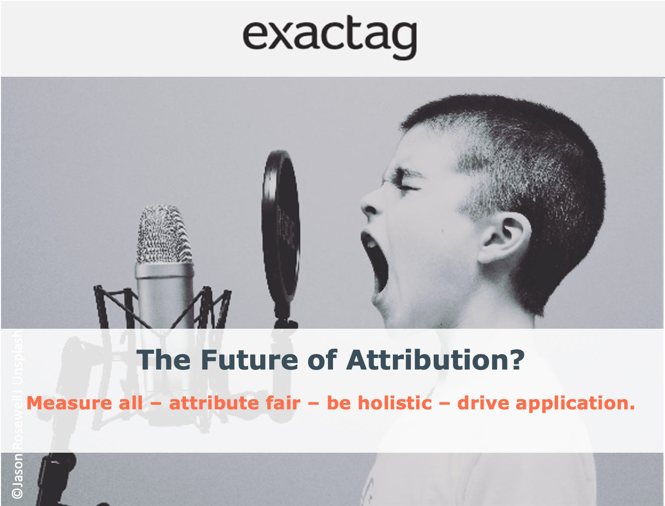 The future of marketing attribution: measure all - attribute fair - be holistic - drive application - do it now!