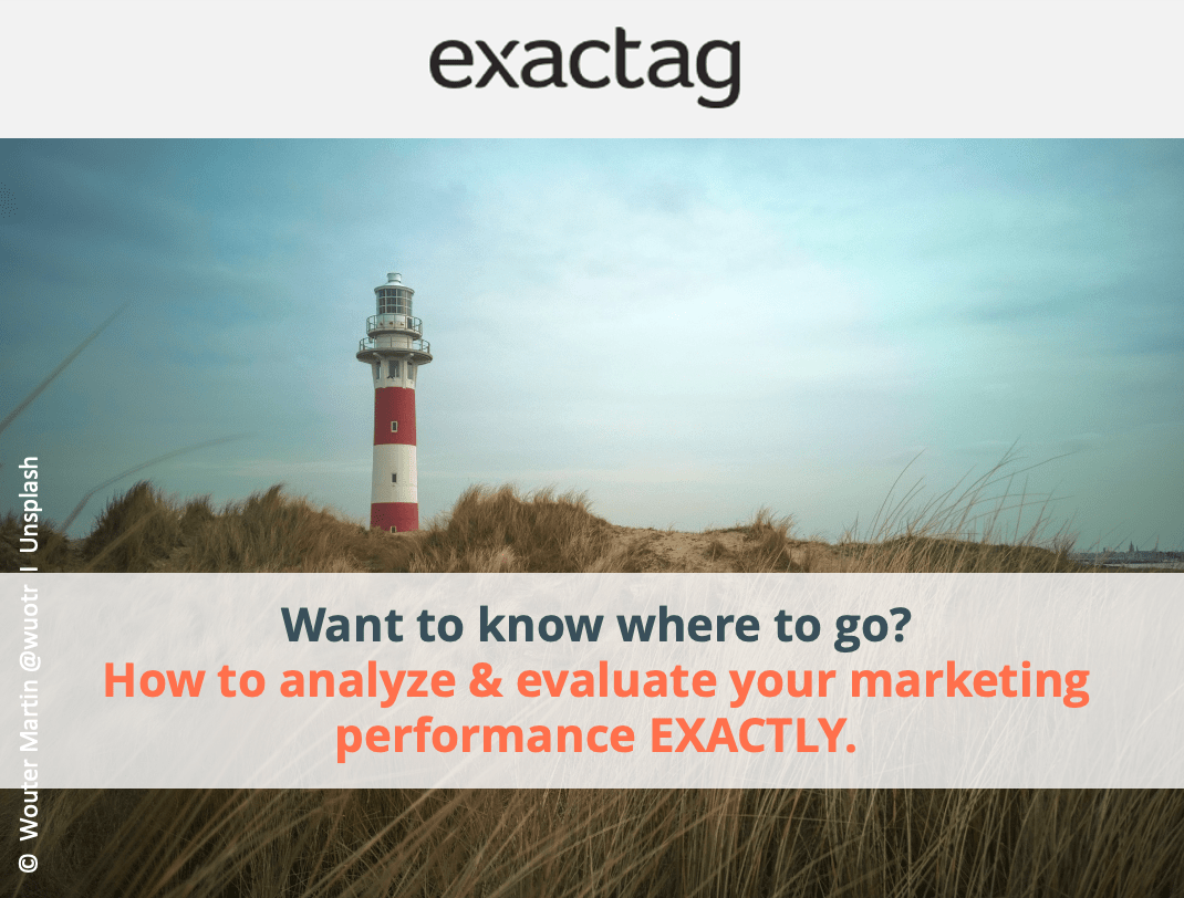 How to analyse and evaluate your marketing performance exactly.